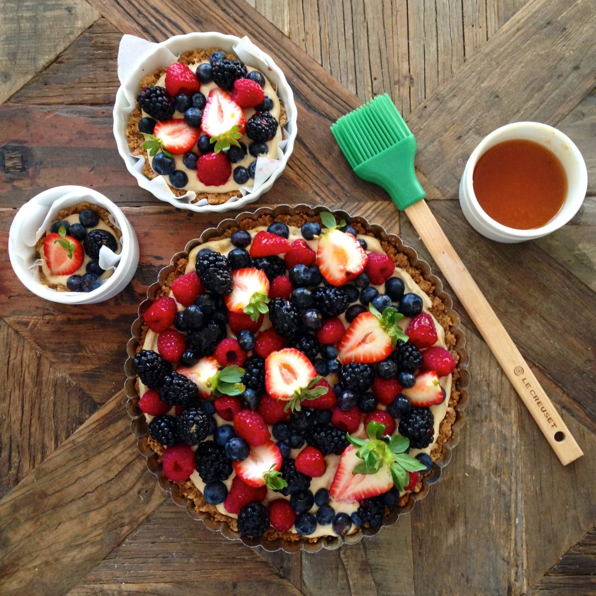 Fruit Tart - The Lazy Version